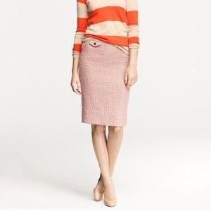 J.crew no.2 pencil skirt in vintage tweed